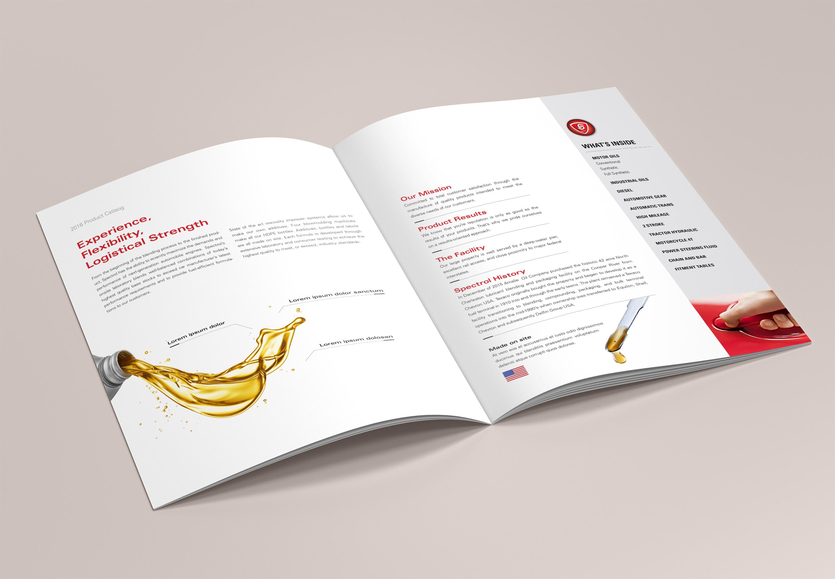 Catalog design cellacore for Best catalog design 2016